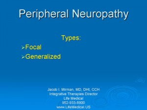 Peripheral Neuropathy Homeopathic Medical Clinic