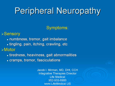 Peripheral Neuropathy | Homeopathic Medical Clinic